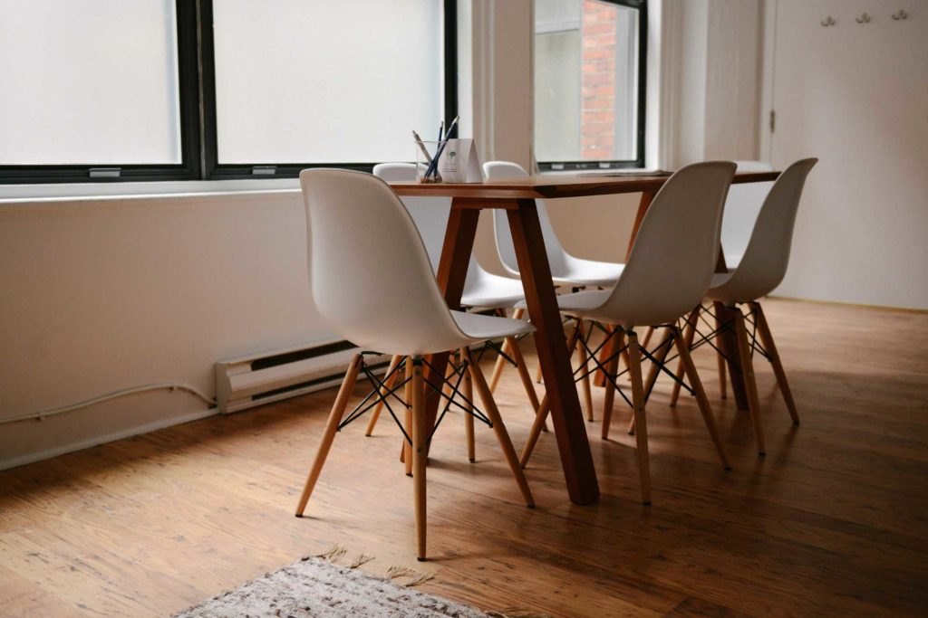 conference room in real estate office for property valuation