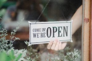 open restaurant sign | new bozeman restaurants