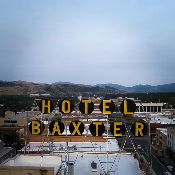 hotel baxter in downtown bozeman montana